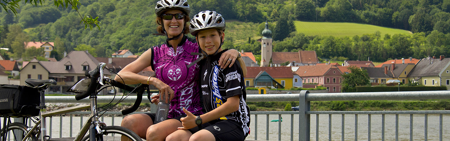 Cycling on Backroads Danube River Cruise Family Bike Tour