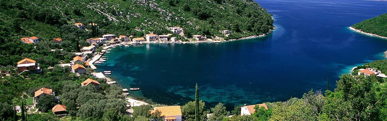 Dalmatian Coast, Croatia scenic coastline
