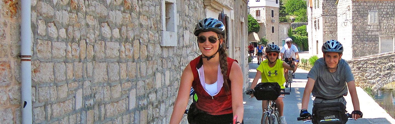 Dalmatian Coast Family Bike Tours