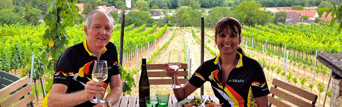 Wine tasting on Backroads Czech Republic and Austria Bike Tours