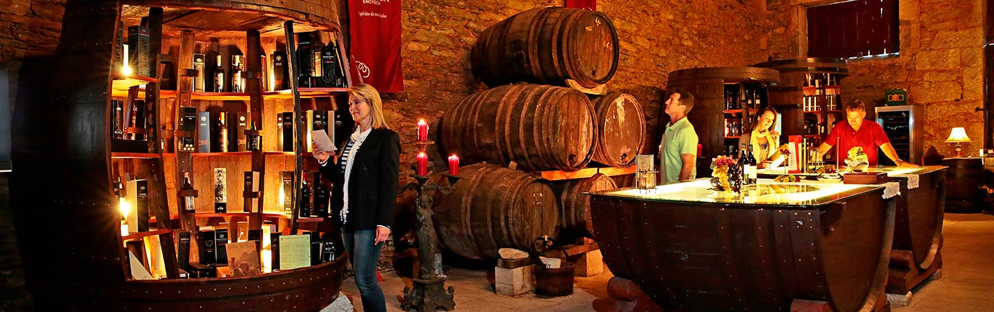 Wine Shop - Douro River Cruise Walking and Hiking Tour