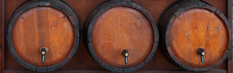 Wine Barrels - France