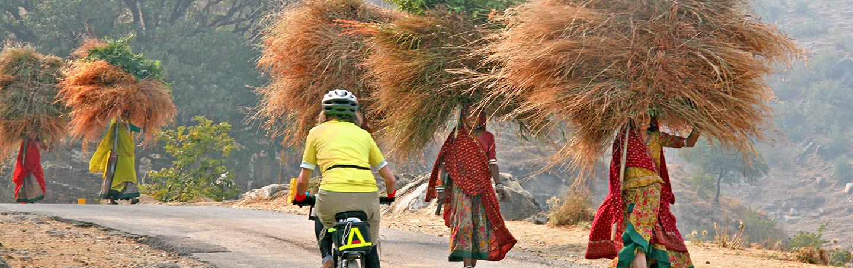 Biking on Backroads India Multisport Tour
