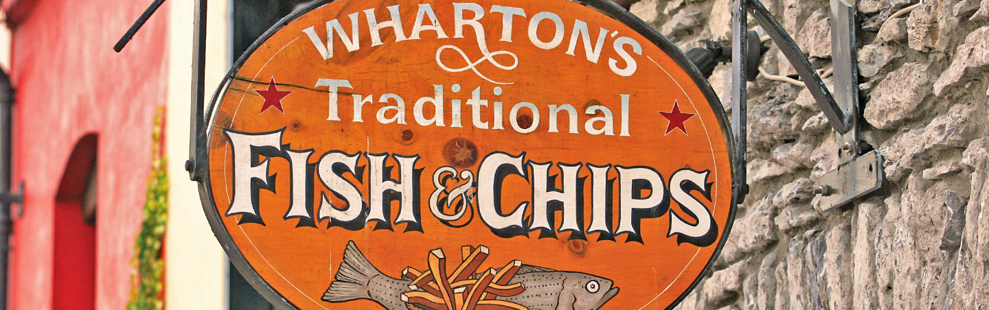 Wharton's Traditional Fish & Chips, Kenmare, Ireland