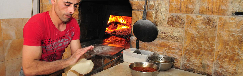Cooking food in Israel