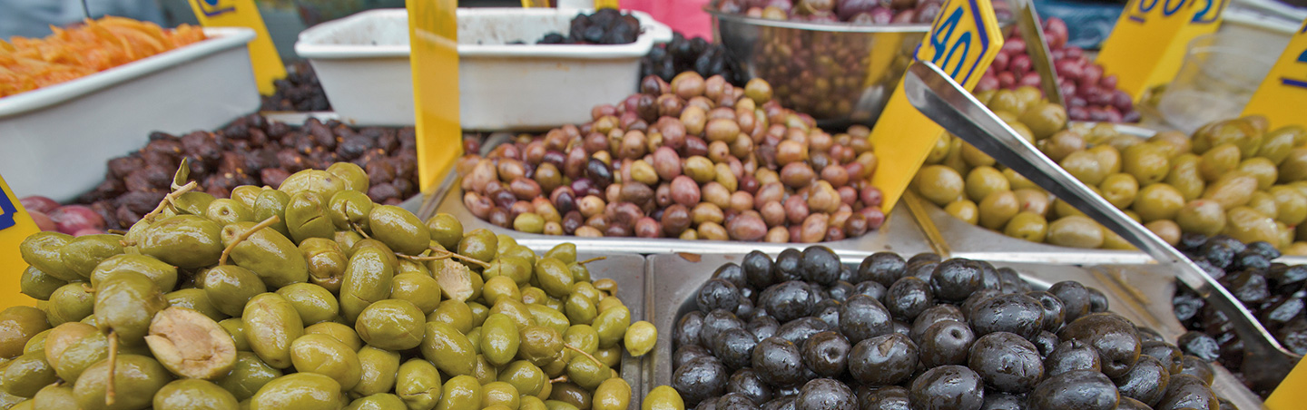 Olives in Israel