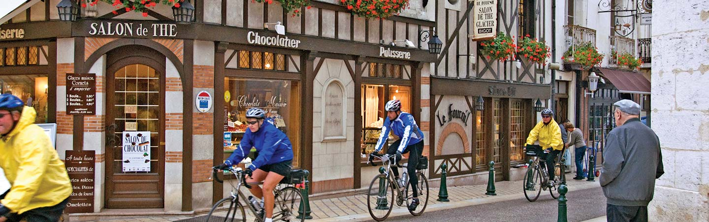 Loire Valley France cycling