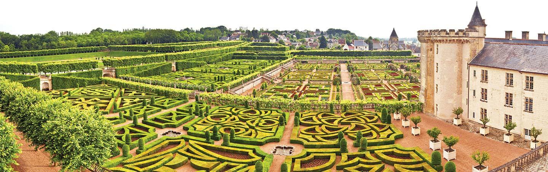 Chateau de Villandry, Loire Valley, France