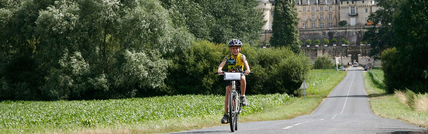 Loire Valley family bicycle tours