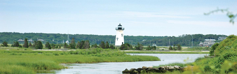 Lighthouse -  Martha's Vineyard & Nantucket Bike Tour