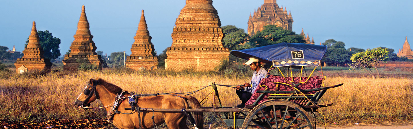 Bagan Temples - Myanmar Bike Tour