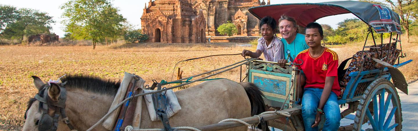 Myanmar Family Breakaway Bike Tour
