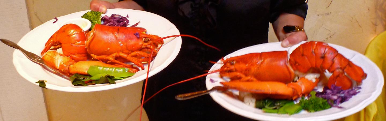Lobster, Backroads Nova Scotia Bike Tours