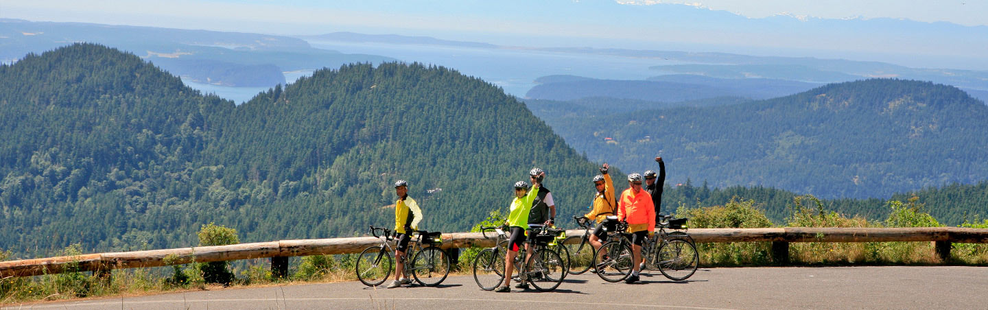 Bike Touring The San Juan Islands