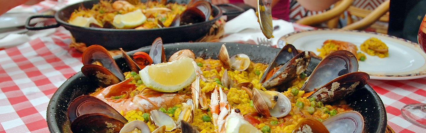 Paella, Backroads Pyrenees to Costa Brava Family Breakaway Bike Tour