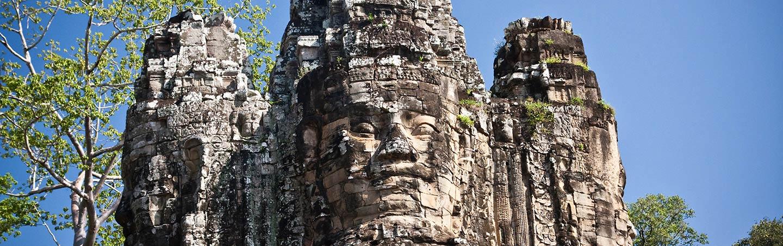 Ruins - Backroads Vietnam & Cambodia Bike Tour