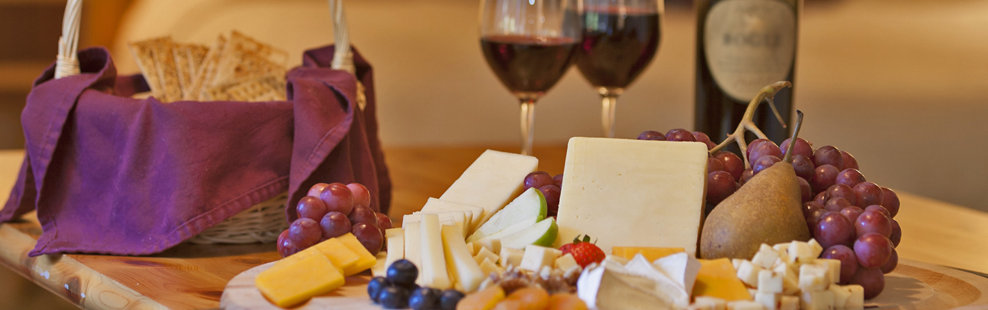 Wine and cheese - Backroads Vermont & Quebec Bike Tours