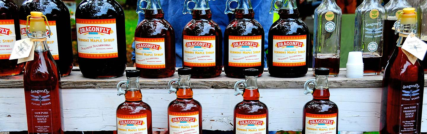 Maple syrup - Backroads Vermont & Quebec Bike Tours