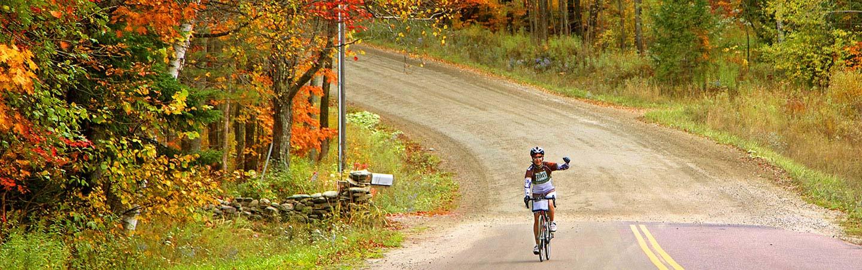 trip vermont bike tour