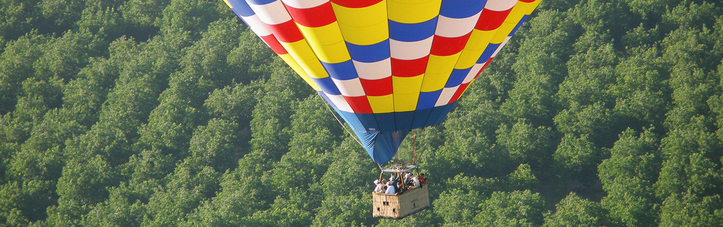 Napa Valley hot air balloon rides
