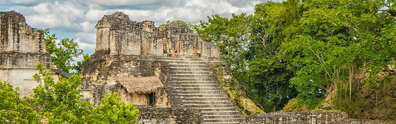 Maya temples - Backroads Belize & Guatemala Multisport Adventure Tours