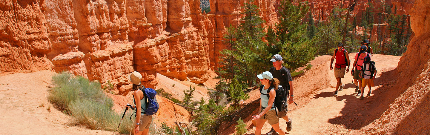 Hiking in Bryce Canyon - Backroads Utah Family Multisport Adventure Tour