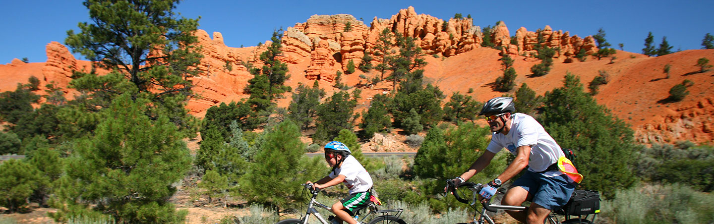 Family Biking - Backroads Bryce, Zion & Grand Canyon Family Multisport Adventure Tour
