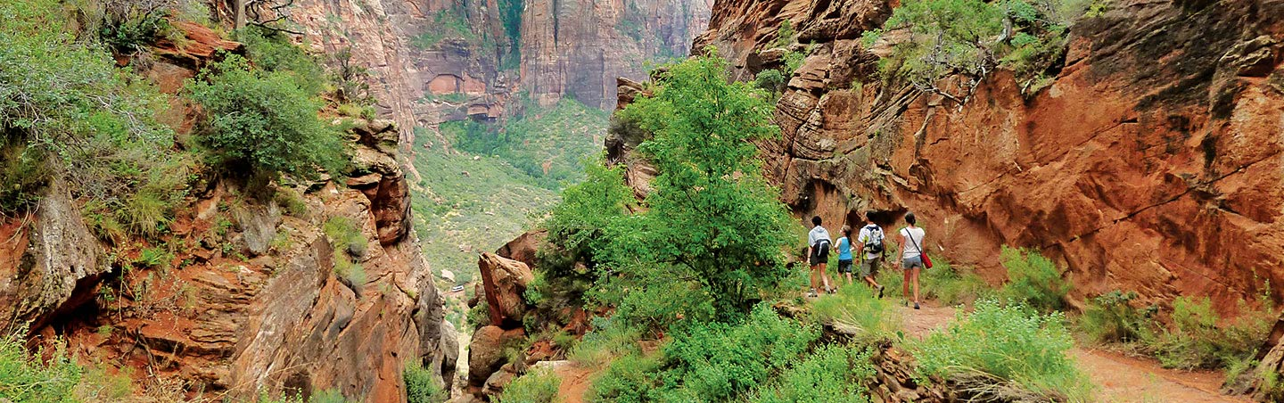 Backroads Bryce, Zion & Grand Canyon Family Multisport Adventure Tour