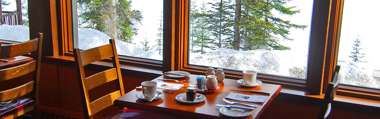 Coffee - Backroads Canadian Rockies Snow Adventure Tour