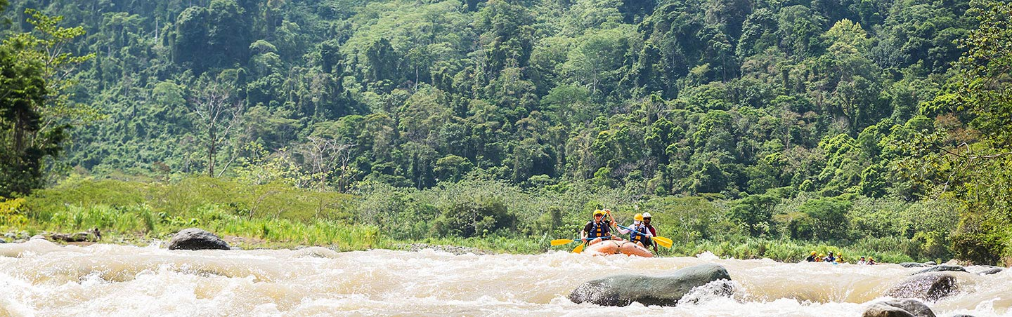Whitewater Rafting - Backroads Costa Rica Multisport Adventure Tour