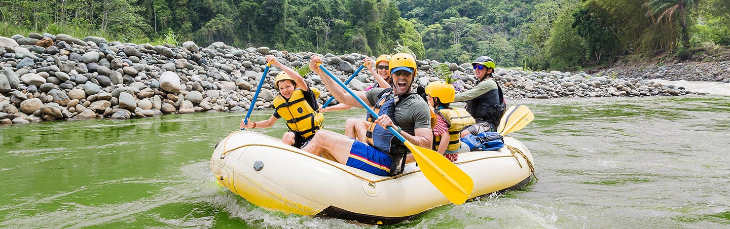 Costa Rica Family Whitewater Rafting Trip