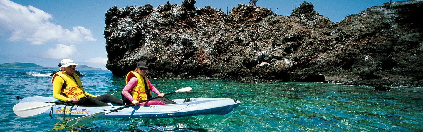Kayaking on Backroads Galapagos & Andes Multisport Adventure Tour