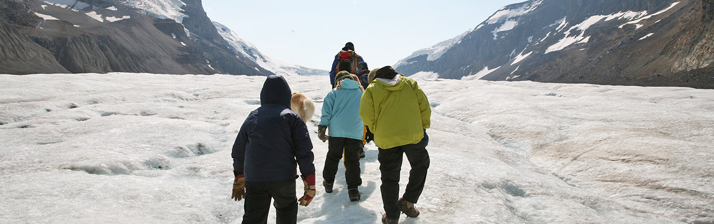 Glacier hiking - Backroads Canadian Rockies Family Multisport Adventure Tour