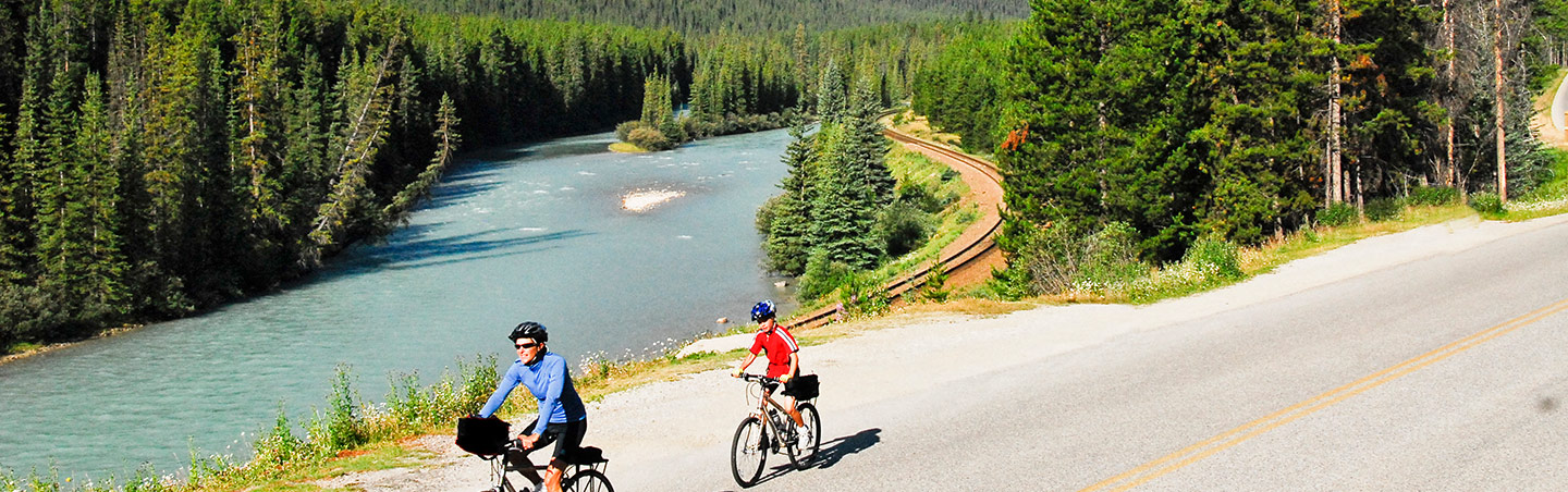 Family Biking on Backroads Canadian Rockies Family Multisport Adventure Tour