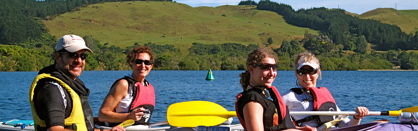 Kayaking - New Zealand Multisport Adventure Tour