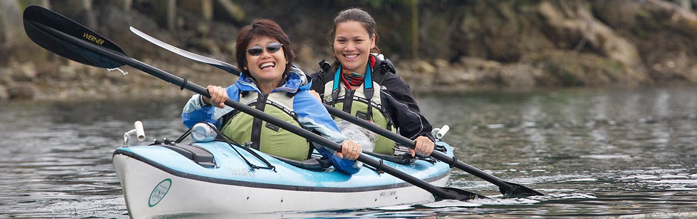 Kayaking - San Juan Islands Family Breakaway Multisport Adventure Tour