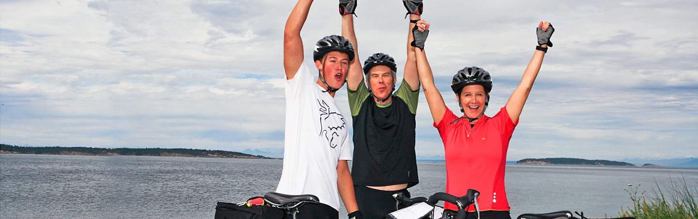 San Juan Islands family bicycle tour, Backroads San Juan Islands