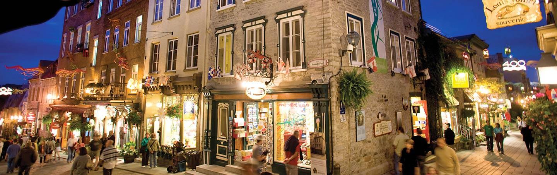Lower Town Old Quebec City (Basse-Ville)