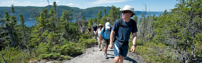 Tadoussac, Quebec Family hiking trips