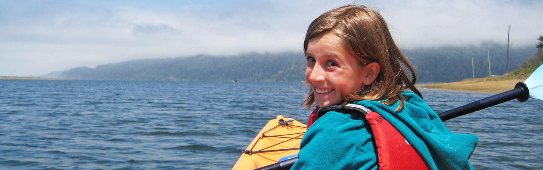 Kayaking - Backroads Redwood Empire Family Multisport Tour