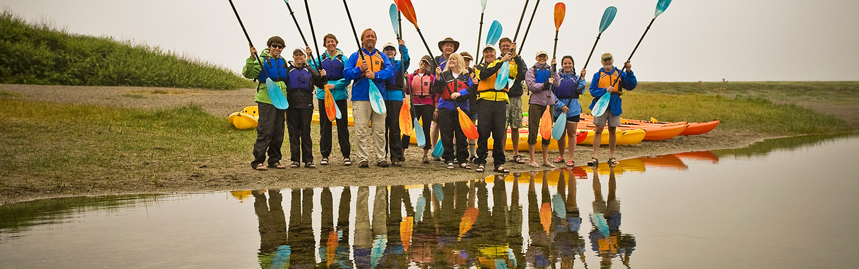 Family Kayaking - Backroads Redwood Empire Multisport Trip