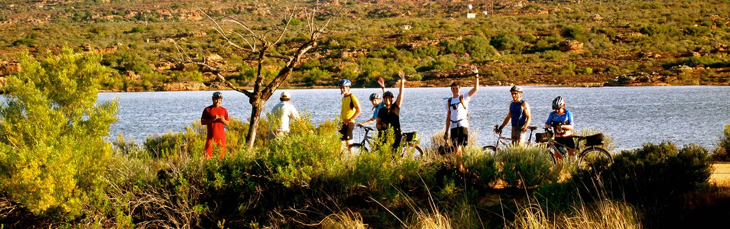 South Africa & Botswana family bike tour