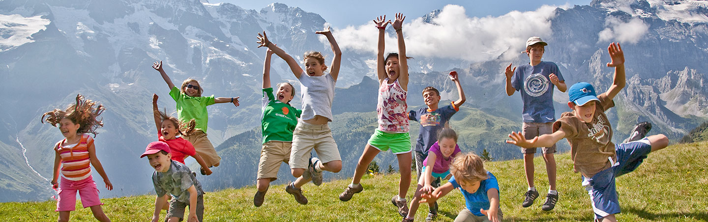 Switzerland family walking & hiking trips
