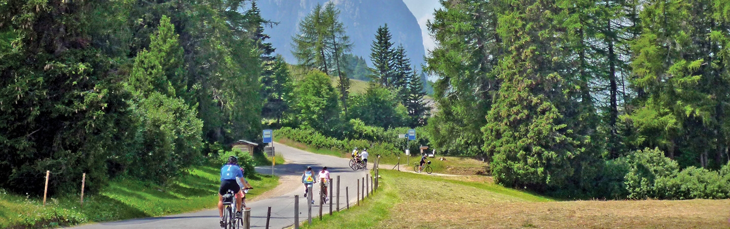 Cycling on Backroads Dolomites Multi-Adventure Tour