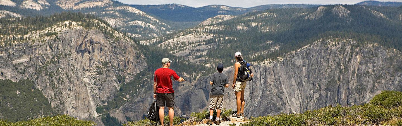 Yosemite Family Hiking Trips