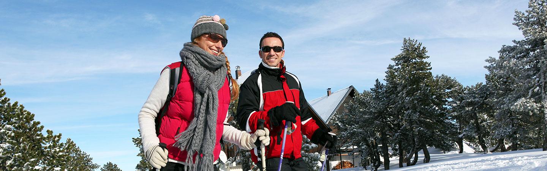 Yellowstone winter snowshoe tours