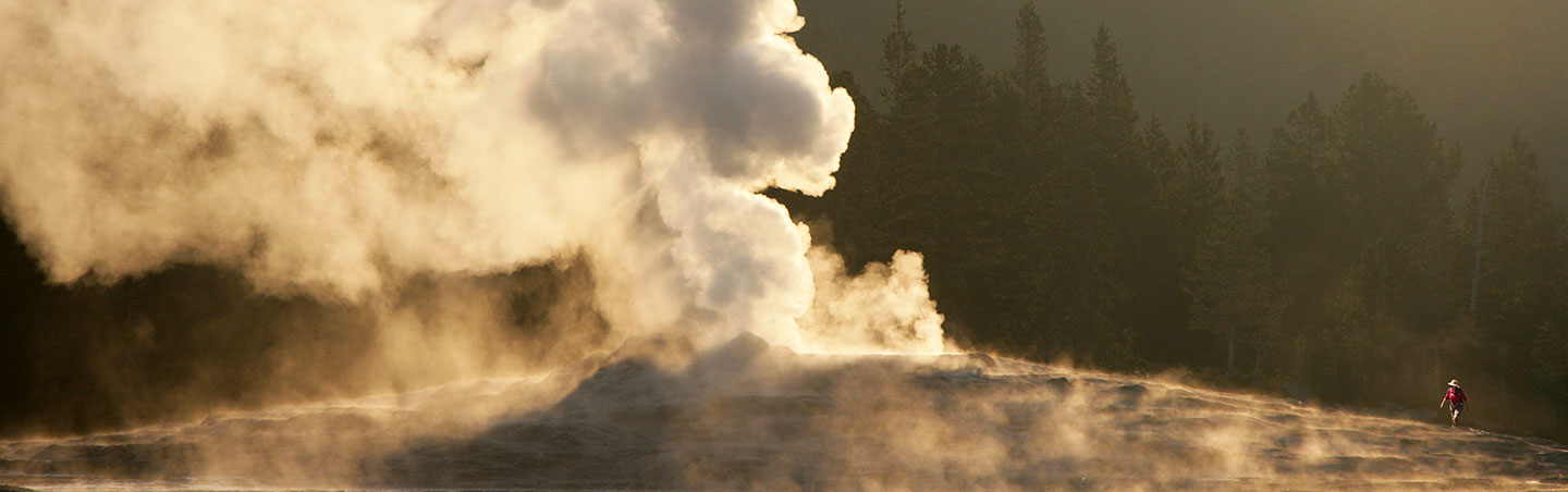 Geyser, Yellowstone National Park, Wyoming