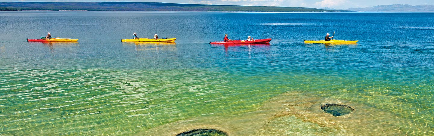 Kayaking, Yellowstone & Teton family adventure trips