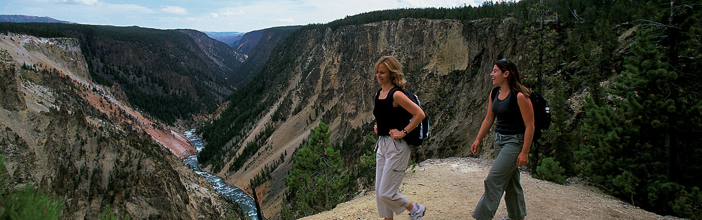 Hiking on Backroads Yellowstone & Tetons Family Breakaway Multisport Adventure Tour