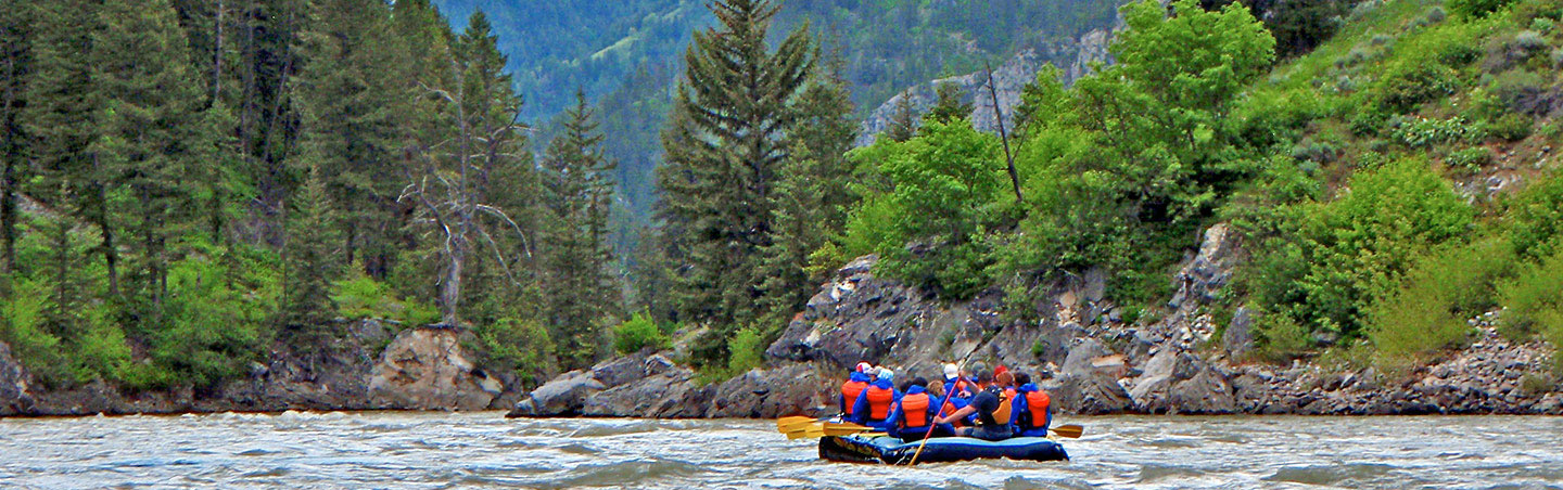Rafting - Backroads Yellowstone & Tetons Wildlife Safari Family Multisport Adventure Tour